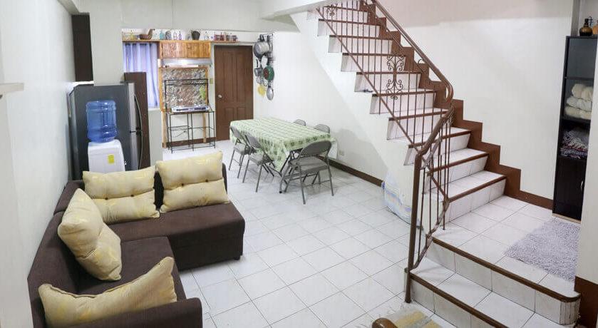 Ethos English school Accommodation Dorm living room
