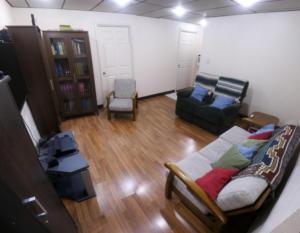 Ethos English school Accommodation home stay living room