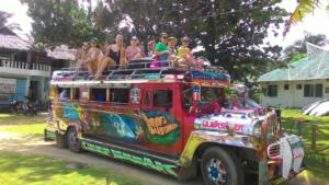Puraran English and Surfing school jeepney
