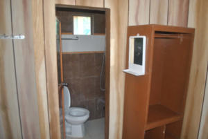 Puraran accommodation bungalow bathroom