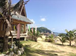 Puraran accommodation bungalow sea view