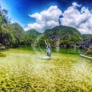 Puraran lagoon best selfie place