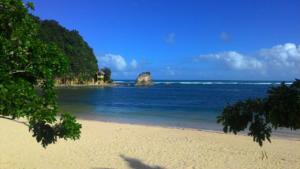 Puraran lagoon good surfing spot for beginners