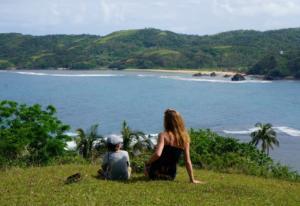 Puraran surfing view spot