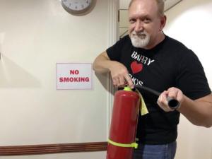 Ethos English school cebu No smoking