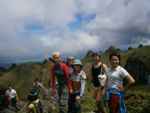 Ethos English school cebu activites island hiking