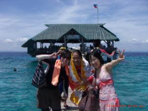 Ethos English school cebu activites island hopping